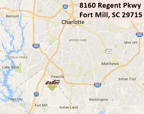 Artios of Charlotte map for web